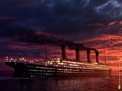 Титаник не утонул? (видео)