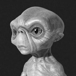 Встреча с пришельцем в Подмосковье в 1994 году